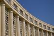 l'architecture du quartier Antigone à Montpellier