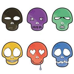 emotion skull