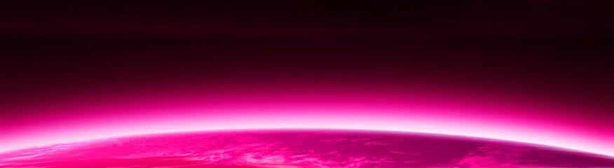 pink world globe banner 3
