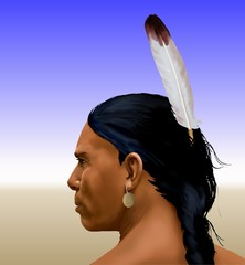 HIAMOVI (Cheyenne name meaning, high chief)