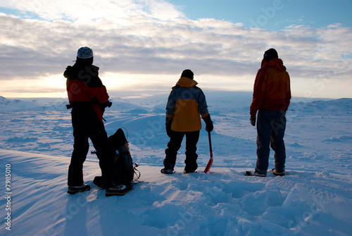 Fotobehang Antarctica 2 Ice field in Greenland
