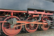 Initimate part of steam locomotive