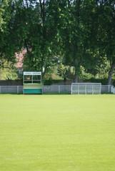 banc de touche de terrain de football