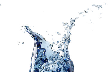 Abstract water, splash
