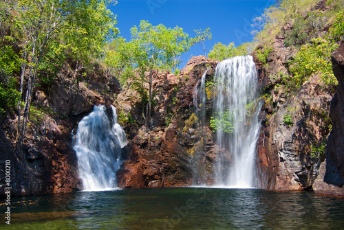 Florence Falls at Litchfield in northern Australia - 8000210