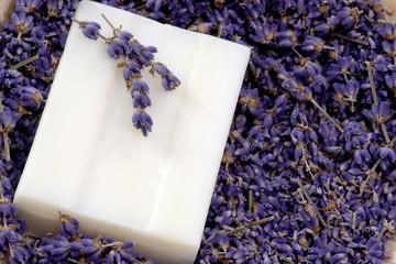 Seife mit Lavendel