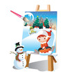 paint your joyful christmas