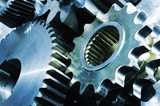 gear mechanics concept poster