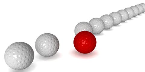 La pallina migliore rossa