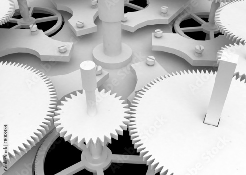 White Clockwork