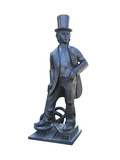 A Statue of Isambard Kingdom Brunel. poster