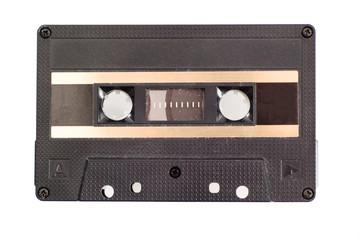 Cassette tape isolated on white