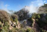 Geothermal Landscape, New Zealand poster