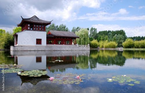 Chinesisches haus von emma arnold lizenzfreies foto for Traditionelles chinesisches haus