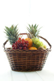 fruit filled basket