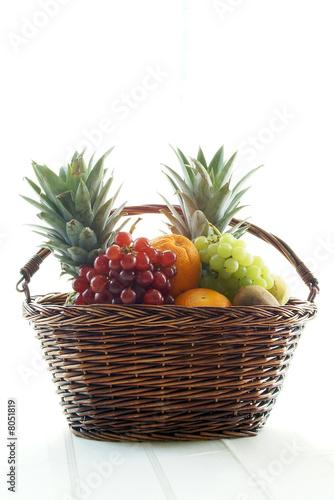 fruit filled basket