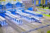 model train station - 8055859