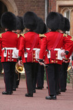 Gardes royaux à Londres poster
