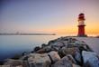 Fototapete Sonnenuntergang - Ostsee - Küste