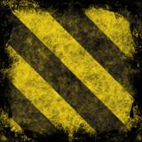 Hazard Stripes poster
