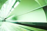 Fototapeta Metro - Ruch - Kolej