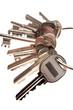Bunch of keys on keyring