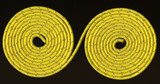 yellow rope in two coils poster