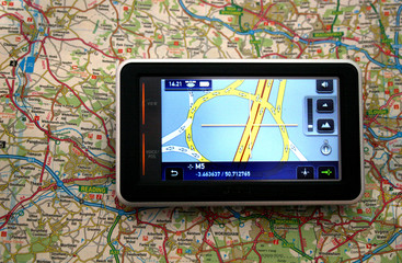 satellite navigation device