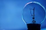 fused light bulb poster