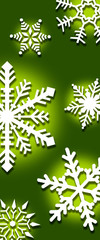 graphic snowflake background