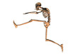 Squelette qui saute