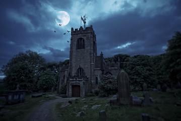 Haunted churchyard