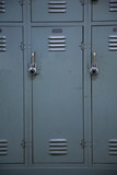 School Locker Green