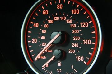 Speedometer of BMW 4.8