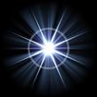 Bright Lens Flare Burst