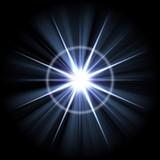 Bright Lens Flare Burst poster