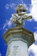 Busto de Cristobal Colón