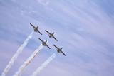 Four magnificent planes poster