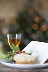 A letter left for Santa