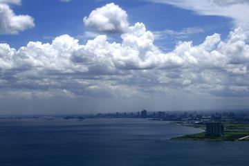 Manila Bay Cityscape