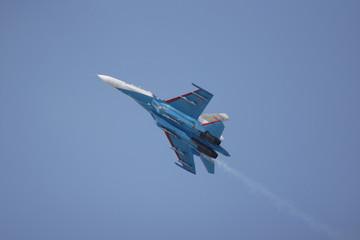 The military plane