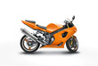 Retouched photo of a motorcycle with clipping path - 8120856
