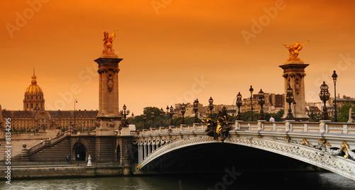 Paris Pont Alexandre 3 et Invalides