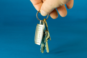 Bumch of keys on a keyring