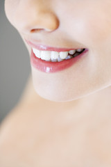 Young woman's smile
