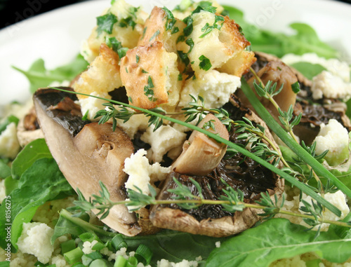 Mushrooms With Ricotta