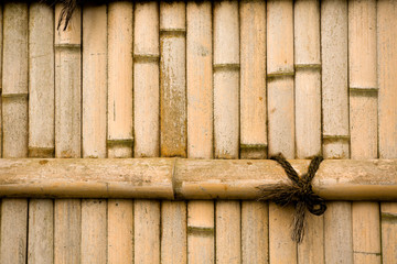 natural bamboo wall