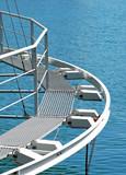 passerella pedonale su struttura galleggiante - 8166895
