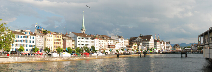 Zurich panoramica