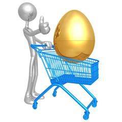 Investment Egg Shopping Cart
